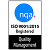 NQA ISO 9001:2015 certification logo